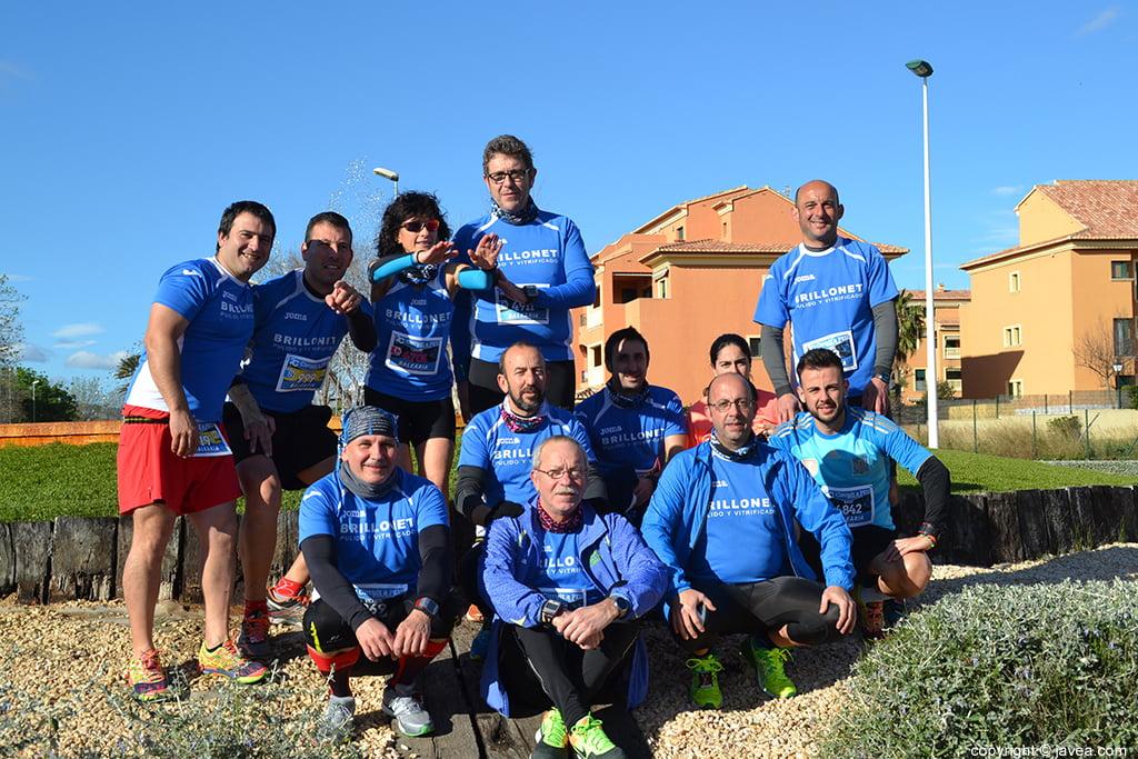 Grupo atletas Brillonet