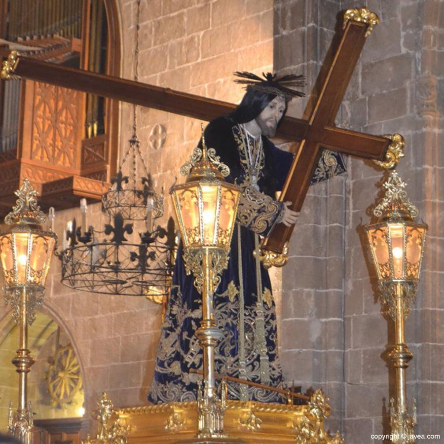 Imagen del Nazareno en Xàbia