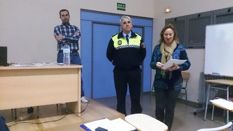 José Antonio Monfort en el curso de formación de la P. Local de Xàbia