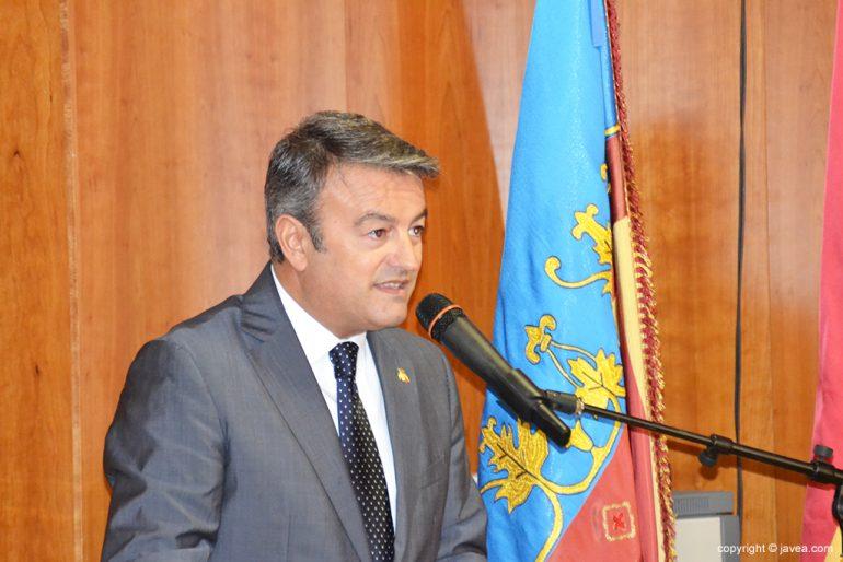 José Chulvi en el ayuntamiento