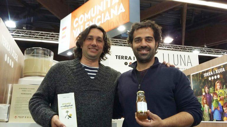 José Manuel Bissetto junto a Eric Navarro