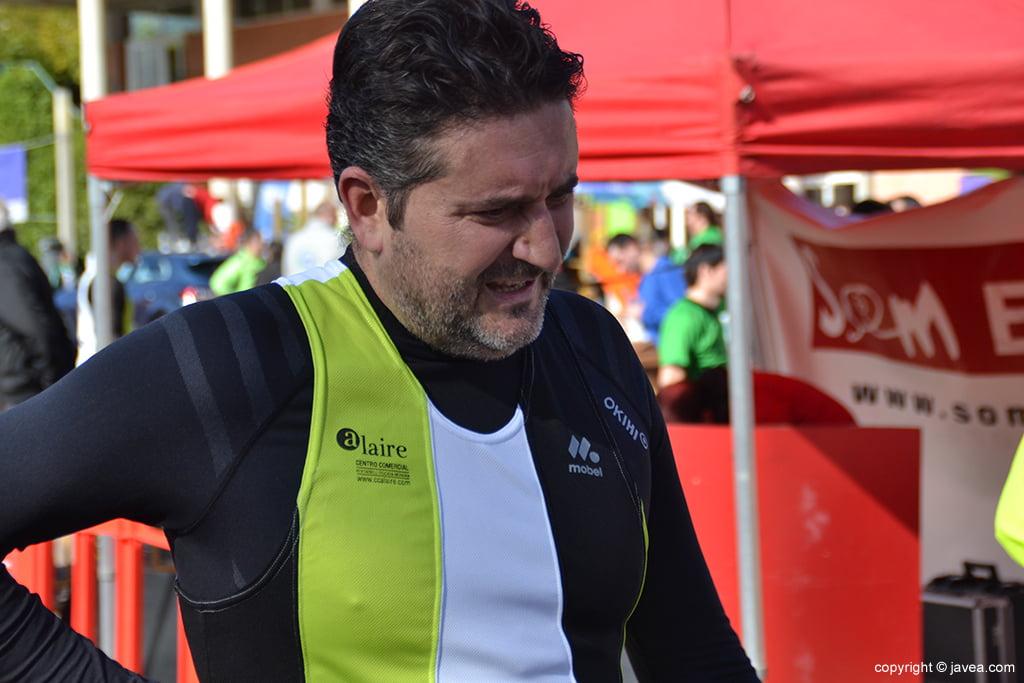 Juanlu Cardona en meta