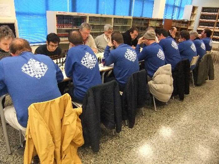 Jugadores del Club Escac's Xàbia