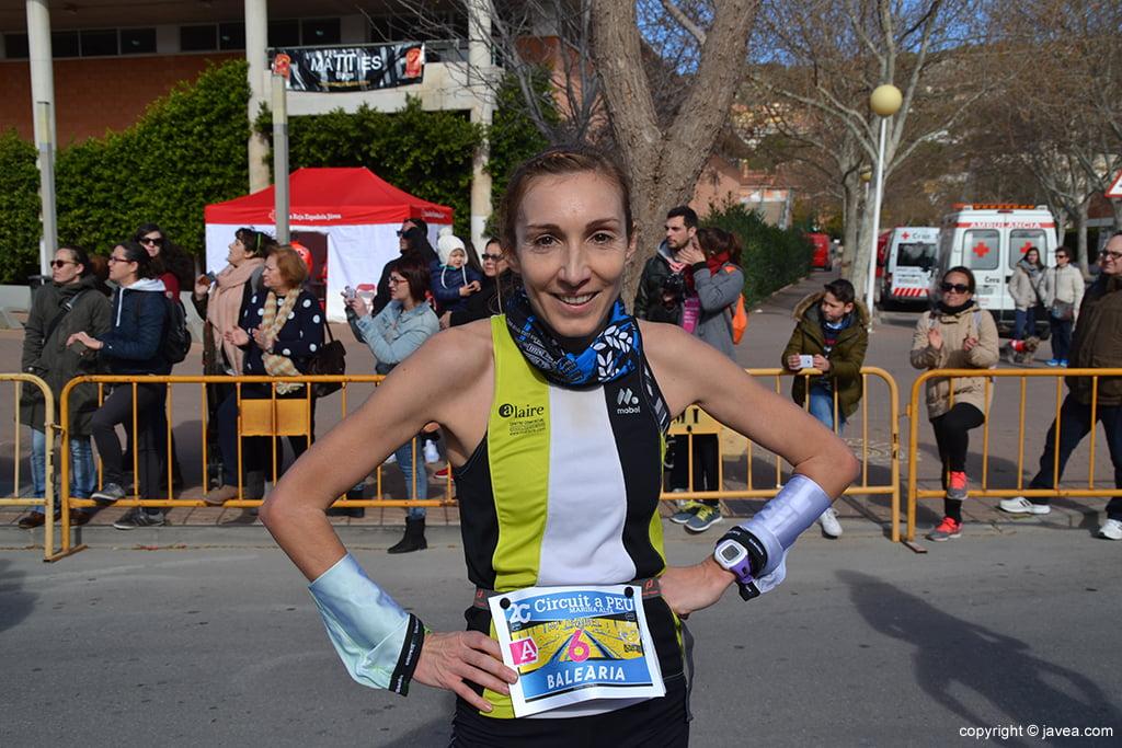 Mª Isabel Ferrer ganadora en Xàbia