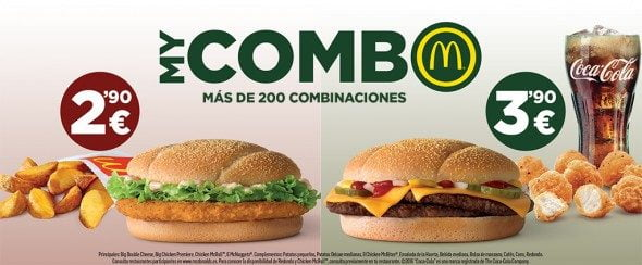 My Combo McDonalds
