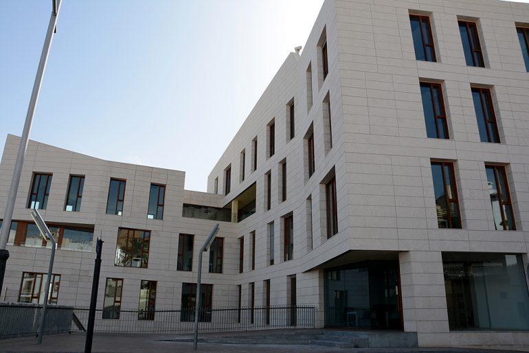 Nuevo edificio del Portal del Clot