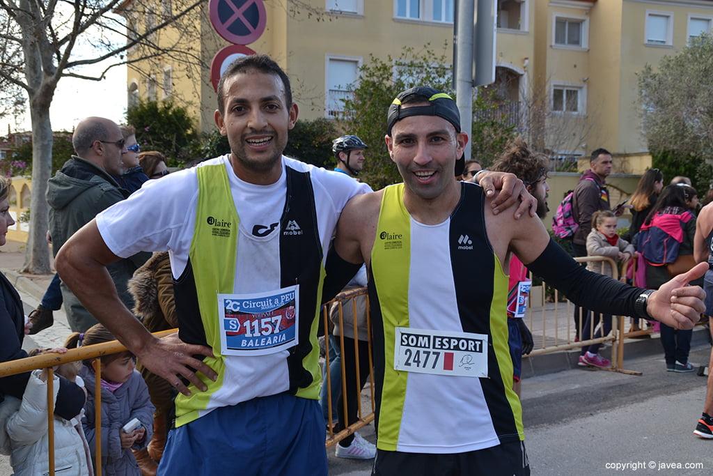 Youssef Ahatach y Adrián Adri