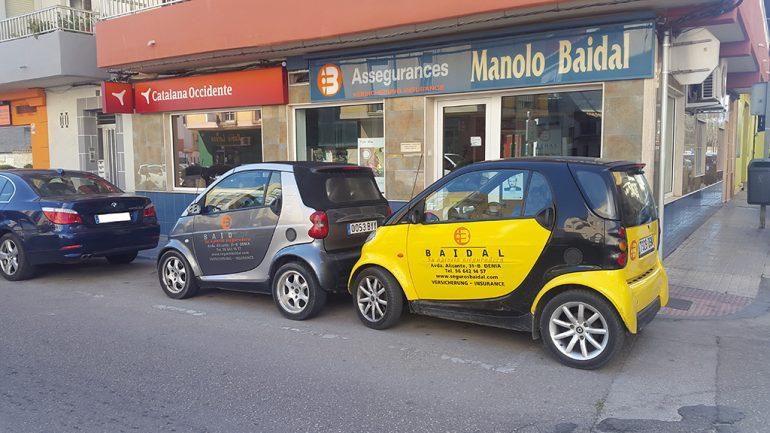 Assegurances Manolo Baidal vehicles