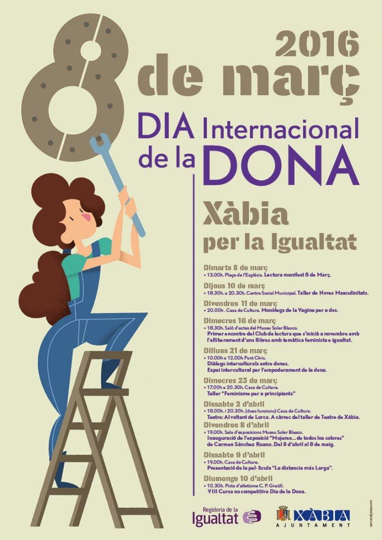 Cartel del Día de la Dona Xàbia
