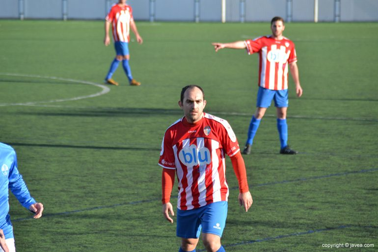 Dani García durante un partido