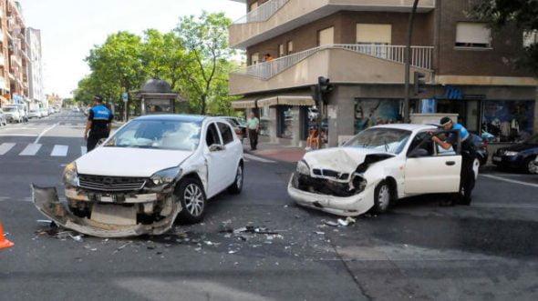 Accidentes de trafico Policlinico San Carlos