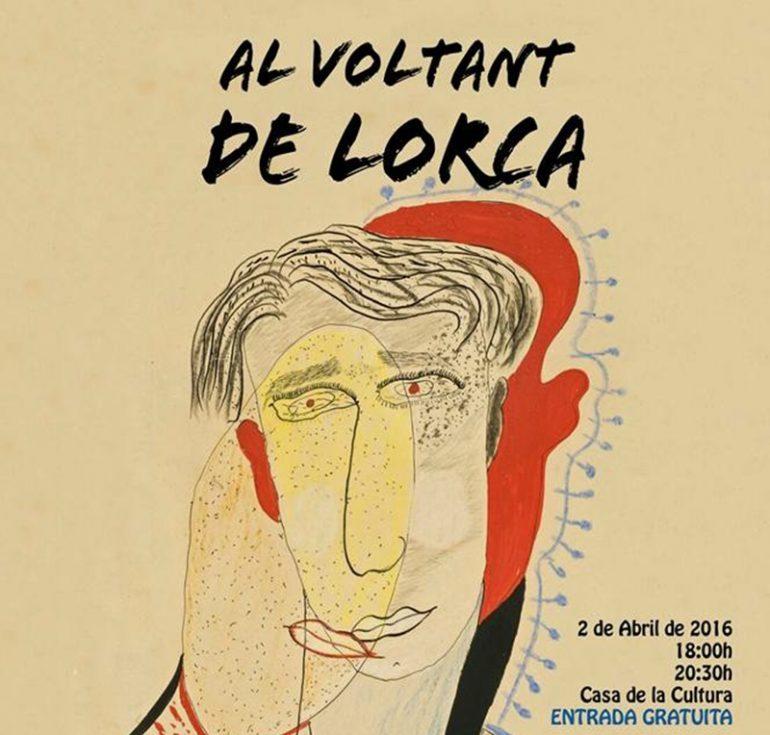 """Cartel de la obra """"Al Voltant de Lorca"""""""