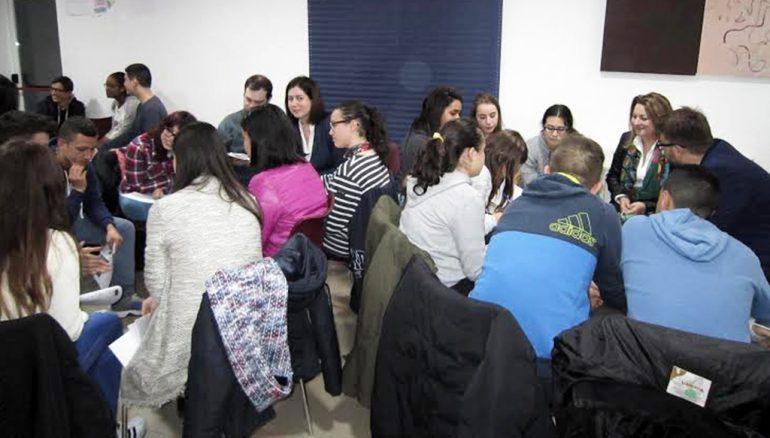 Asistentes al Taller de Masculinidades celebrado en Xàbia