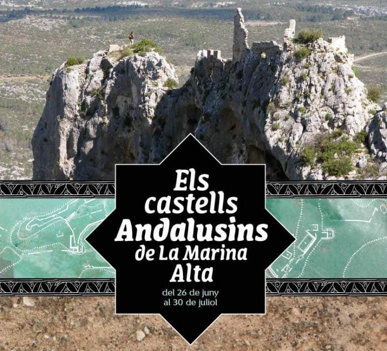 """Cartel exposición """"Els Castells Andalusins de la Marina Alta"""""""