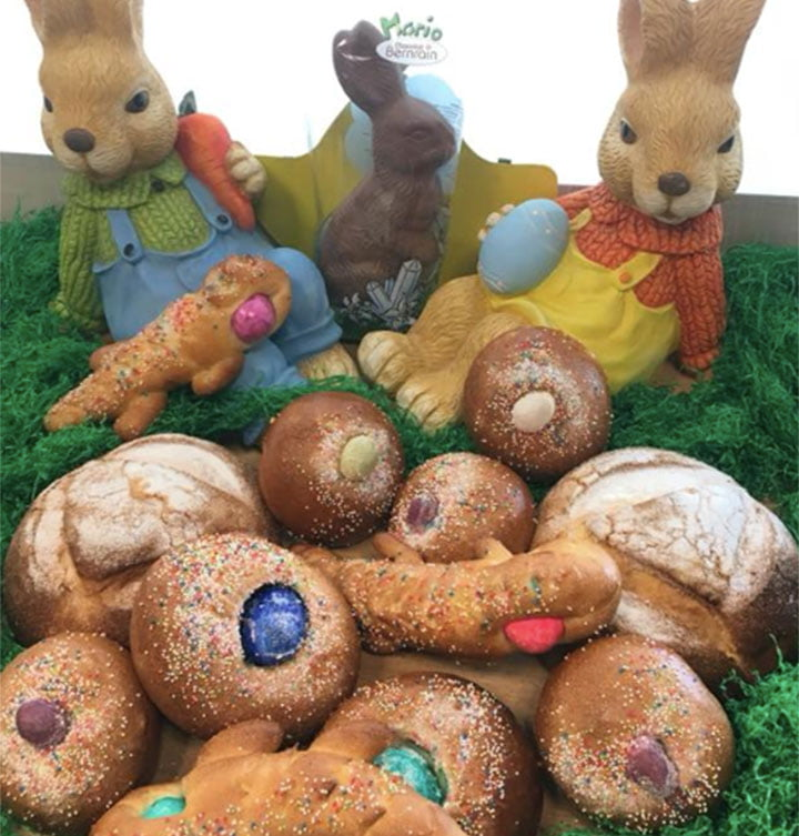 Conejos de Pascua Austriaco Cafe Wein