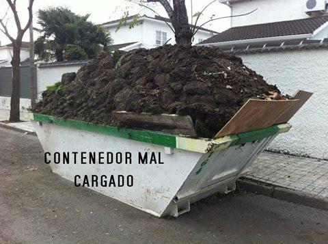 contenedor mal cargado Contenedores Mata