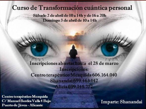 Curso de Transformacion cuántica personal
