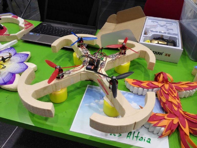Dron de la Feria Aérea 2015