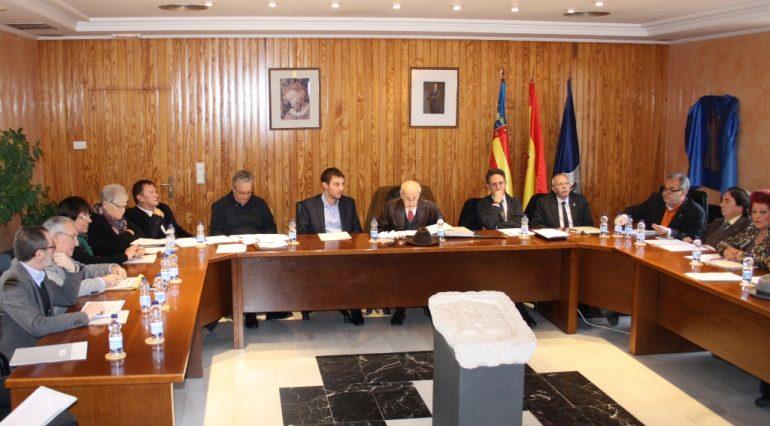 El Consell de Cultura reunido en el ayuntamiento de Ondara