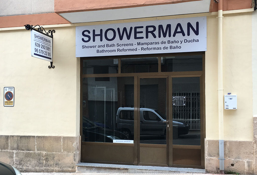 Entrada Showerman