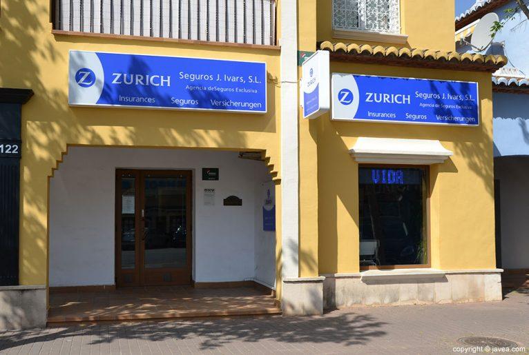 Entrada Zurich Assegurances J.Ivars