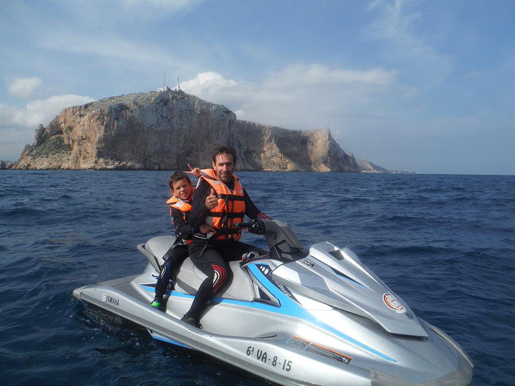 Excursion en moto de agua en Fun&Quads