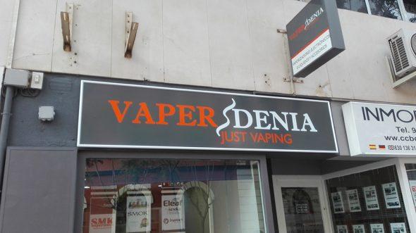 Fachada Vaper Denia de Smokexperiences