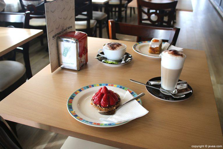 Merienda Austriaco Café Wien