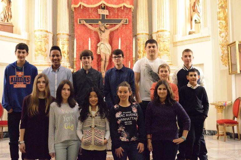 Participantes  en el Concurso de Jóvenes Interpretes de Benitatxell