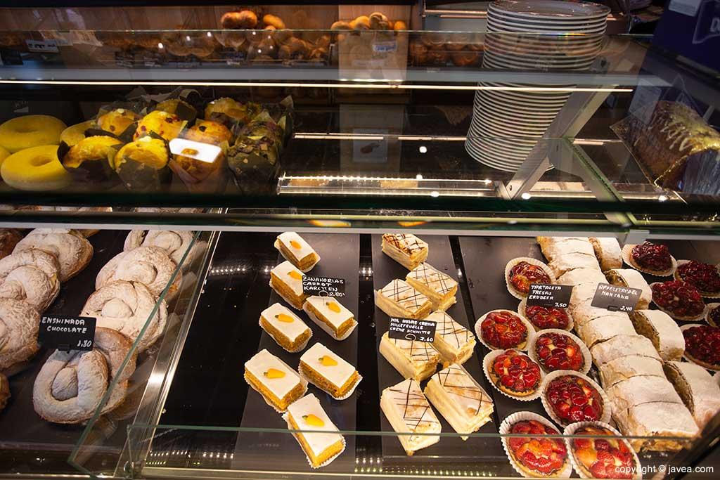 Pastas y bollería Austriaco Café Wien