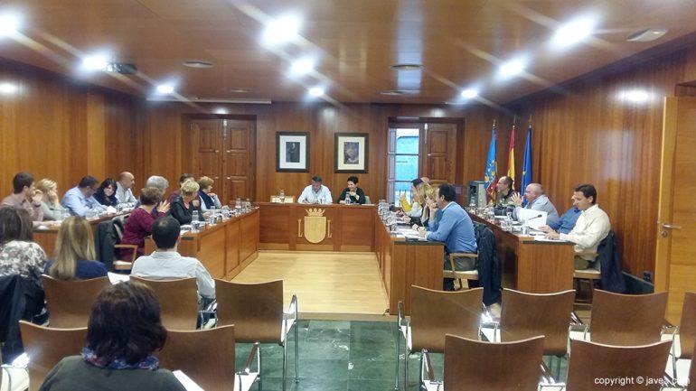 Pleno de marzo en el ayuntamiento de Xàbia