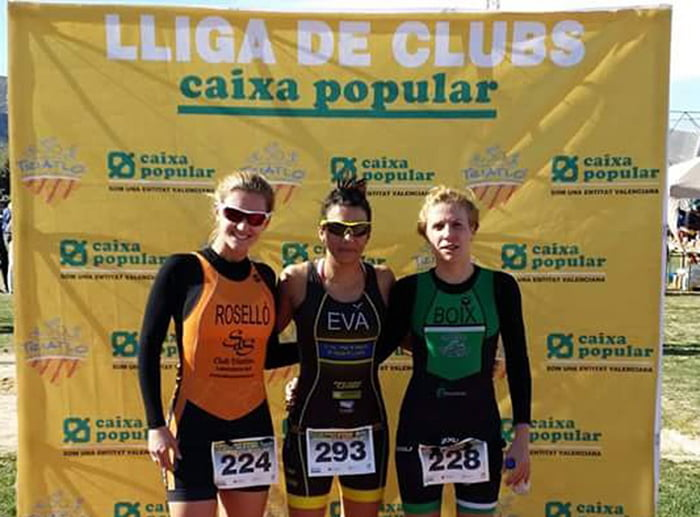Podium absoluto femenino