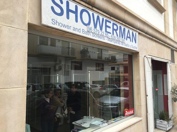 Showerman tienda