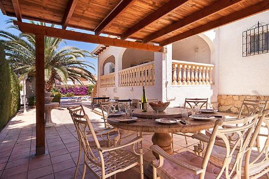 Terraza de la Casa Sandra Aguila Rent a Villa