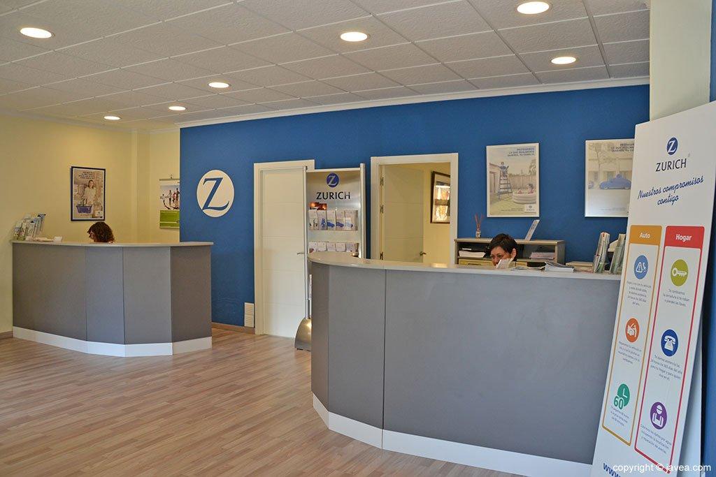 Zurich Seguros J.Ivars oficina