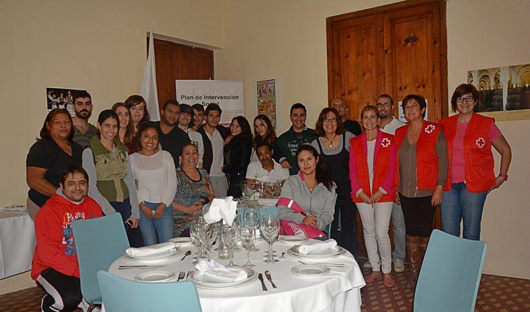 Alumnos del curso de hostelería de Cruz Roja Xàbia
