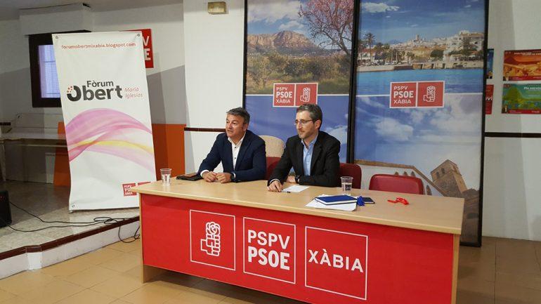 Arcadi España con José Chulvi