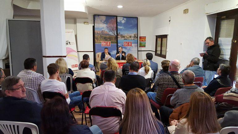 Arcadi España en la Casa del Pueblo de Xàbia