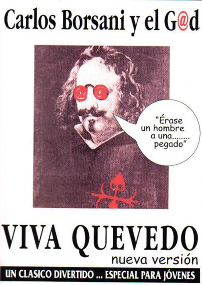 Cartel de la obra Viva Quevedo