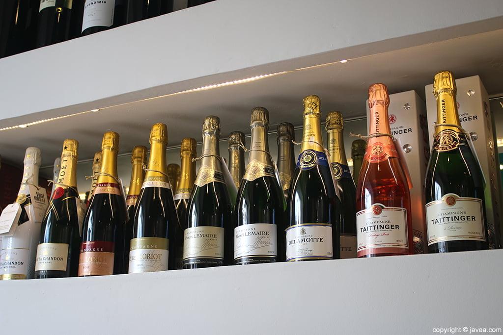 Champagne Vins i mes