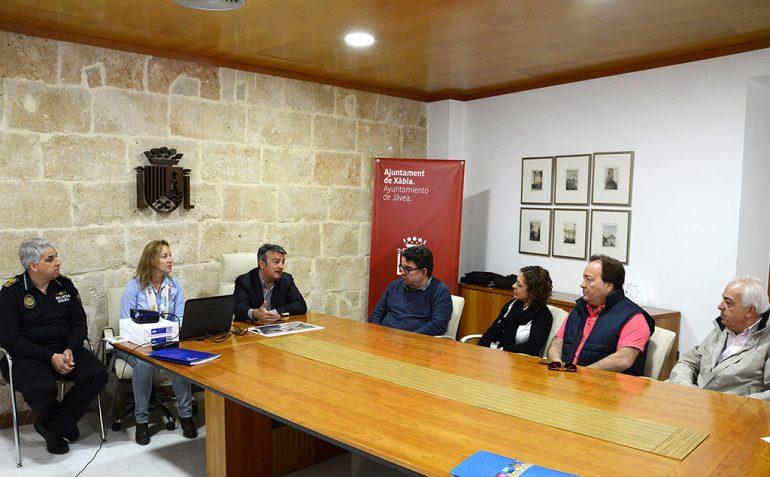 Chulvi en la reunión informativa con comerciantes y hosteleros