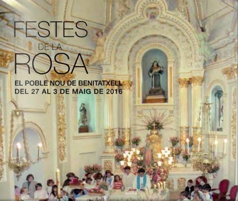 Fiestas en honor a la Virgen de la Rosa Benitatxell