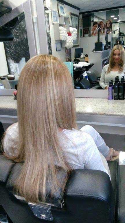 Peinado liso Prestige Peluquería