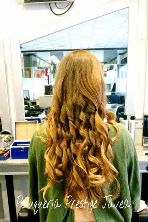 Peinado ondas Prestige Peluquería