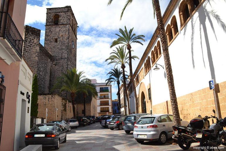 Plaza Celestino Pons en Xàbia