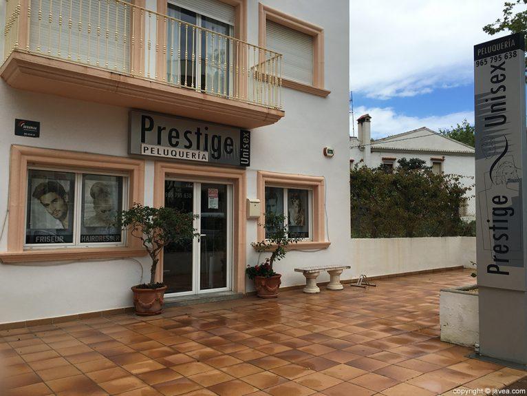 Prestige Peluquería fachada