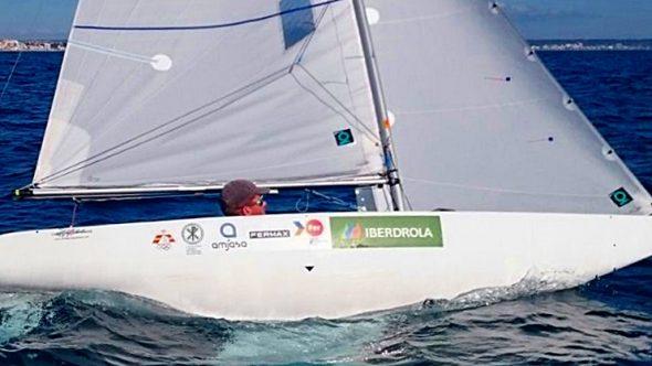 Rafa Andarias en la regata SAR Princesa Sofía