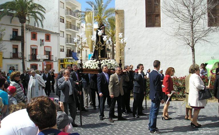 San Francisco de Paula en procesión