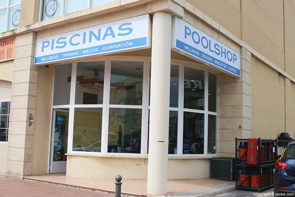 The Pool Shop entrada