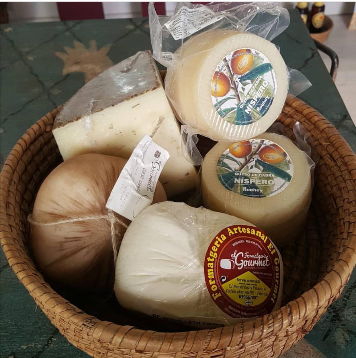Variedad quesos Vins i Més